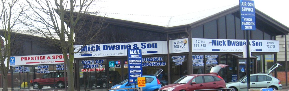 Mick Dwane Car Sales Newark
